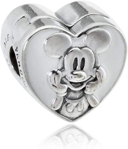 mickey heart charm