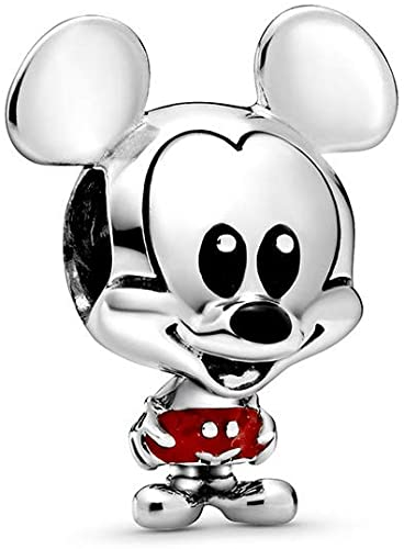 mickey red short charm