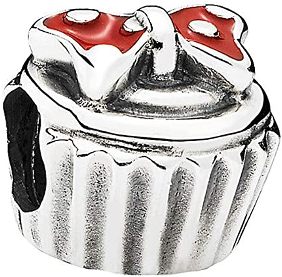 minnie cupcake charm