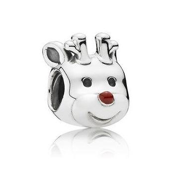 christmas reindeer charm