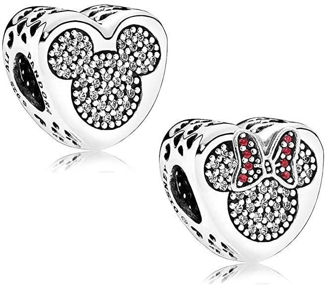 mickey and minnie true love charm