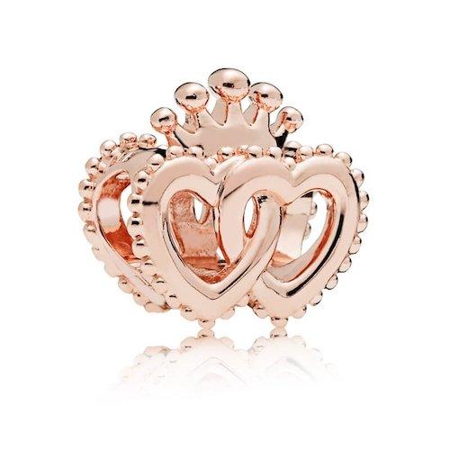 regal hearts rose charm