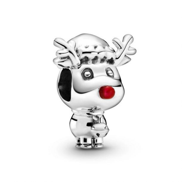 rudolph the red nose reindeer charm