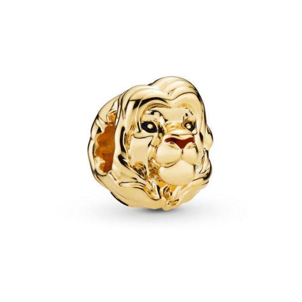 lion king simba gold charm