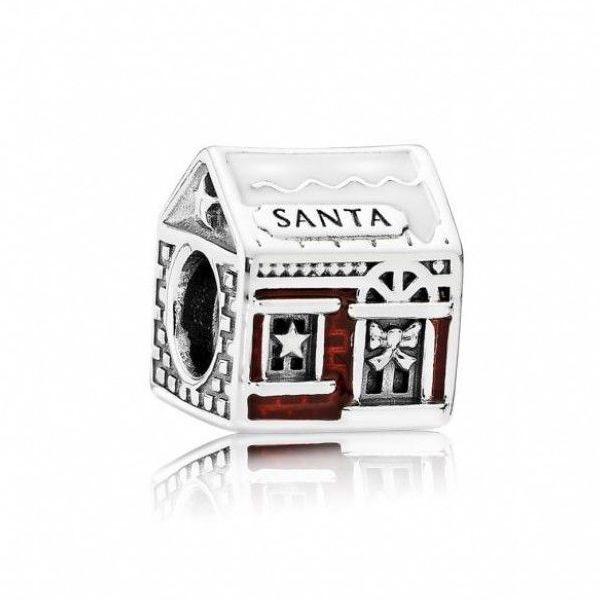 santa house charm
