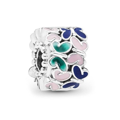 butterflies clip charm