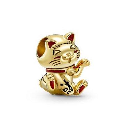 cute fortune cat charm