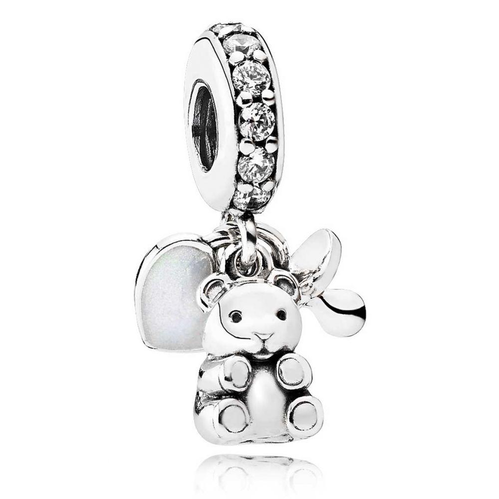 baby teddy bear dangle charm