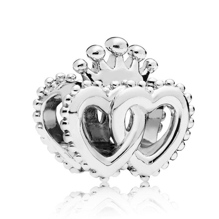 united regal hearts charm