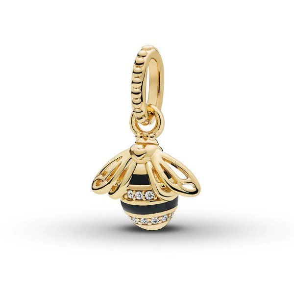 gold plated queen bee pendant